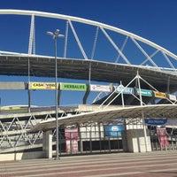 Photo taken at Olympic Stadium (Engenhão) by Leonardo C. on 5/9/2013