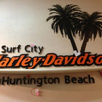 Photo taken at Surf city harley davidson by Courtney M. on 2/1/2013