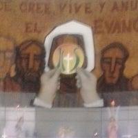 Photo taken at Iglesia Maria Auxiladora by Sandra F. on 3/29/2013