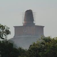 Photo taken at Jetavana Stupa by Honza P. on 4/7/2016
