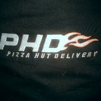Photo taken at PHD - Pizza Hut Delivery by putrinda n. on 6/8/2013