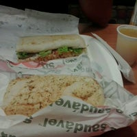 Photo taken at Subway by Paola R. on 3/3/2013