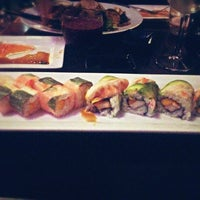 Photo taken at Pisces Sushi Bar & Lounge by Brian T. on 2/15/2013