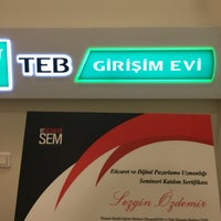 Photo taken at TEB Girişim Evi by Sezgin Ö. on 9/8/2016