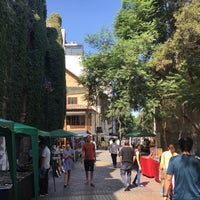 Photo taken at Barrio Lastarria by Cecilia N. on 3/19/2017