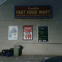 Photo taken at franklin fast food mart by Ryan C. on 2/5/2013