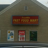 Photo taken at franklin fast food mart by Ryan C. on 2/3/2013
