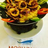 Photo taken at Moshonis Balıkçısı İsmail Chef by MOSHONİS BALIKCISI CHEF İ. on 12/18/2014