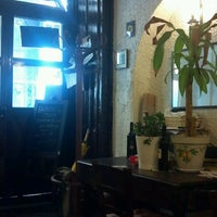 Photo taken at La Cantina di Via Sapienza by Hannah B. on 7/12/2013