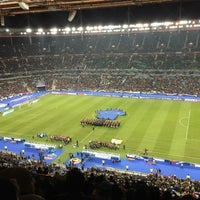 Photo taken at Stade de France by Francois U. on 3/26/2013