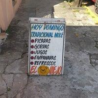 "Photo taken at Antojitos ""El Leon Viejo"" by Juan M. on 8/11/2013"