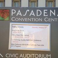 Photo taken at Pasadena Civic Auditorium by Brittany B. on 1/13/2013