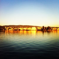 Photo taken at The Lake Chalet Seafood Bar & Grill by Raven B. on 3/10/2013