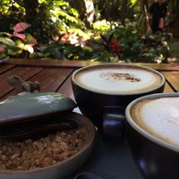 Photo taken at Clay Studio Coffee in the Garden by Kris G. on 12/15/2016