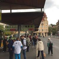Photo taken at Tržnice MHD terminál by Jan M. on 9/9/2015
