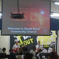 Photo taken at Salvation Army South Rand Community Church by Olefile M. on 11/3/2013