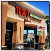 Photo taken at TOGO'S Sandwiches by Duby P. on 6/1/2014