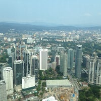 Photo taken at Level 83, Tower 1 by Mohd T. on 2/20/2014