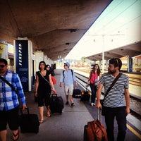 Photo taken at Železniška postaja Ljubljana / Train Station by Valérie V. on 7/1/2013