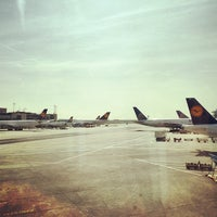 Photo taken at Gate A1 by Valérie V. on 4/1/2014