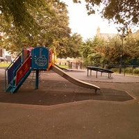 Photo taken at Children's Playground @ Greenside Rd by andrew w. on 10/5/2013