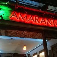 Photo taken at Amaranto by Jorge R. on 2/1/2014