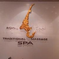 Photo taken at Royal Thai Spa by Deema M. on 9/24/2013