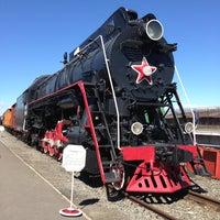 Снимок сделан в Центральный музей Октябрьской железной дороги пользователем Vovka V. 5/3/2013