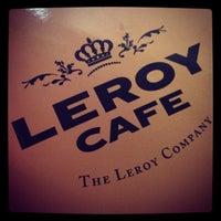 Photo taken at Leroy Cafe by Évi J. on 4/8/2013