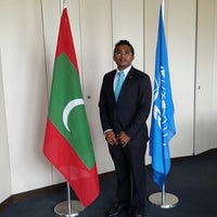 Photo taken at Maldives Mission in Geneva by Abdulla R. on 10/15/2014