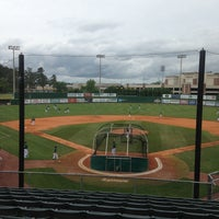 Photo taken at Pat Kenelly Diamond at Alumni Field - SLU Baseball by Will A. on 5/11/2013