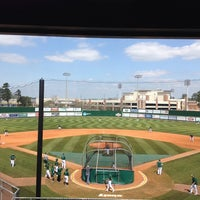 Photo taken at Pat Kenelly Diamond at Alumni Field - SLU Baseball by Will A. on 3/12/2014