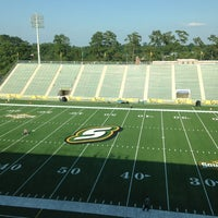 Photo taken at Strawberry Stadium by Will A. on 8/29/2013