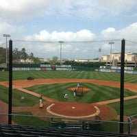 Photo taken at Pat Kenelly Diamond at Alumni Field - SLU Baseball by Will A. on 4/16/2013