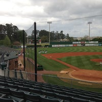 Photo taken at Pat Kenelly Diamond at Alumni Field - SLU Baseball by Will A. on 4/9/2013