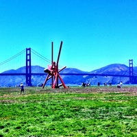 Photo taken at Crissy Field by Kylie F. on 6/23/2013
