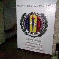 Photo taken at C.E.N. Acción Democrática by Juan O. on 1/28/2014