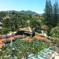 Photo taken at Dhevan Dara Resort & Spa by Peerapong L. on 6/1/2013