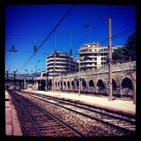 Photo taken at Gare SNCF de Toulon by Romain T. on 1/28/2013