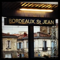 Photo taken at Gare SNCF de Bordeaux Saint-Jean by Romain T. on 1/28/2013