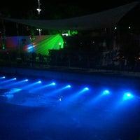 Photo taken at Bora Bora Beach club yalancı boğaz by Erhan A. on 6/13/2014