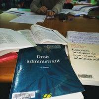 Photo taken at BU Droit-Lettres by Rebecca D. on 10/12/2015