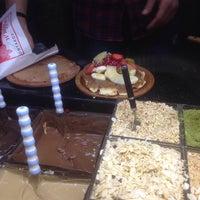 Photo taken at atom waffle by Zehra K. on 11/5/2015