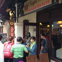 Photo taken at Sapa Lotus Restaurant by Jamie F. on 3/1/2013
