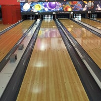 Photo taken at Universal Bowling Center by Alanoud on 10/21/2015