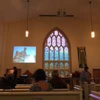 Photo taken at Little Trinity Anglican Church by Dan T. on 12/24/2014