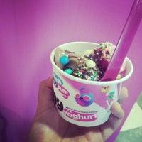 Photo taken at chillbox frozen yogurt by Ana G. on 7/26/2014