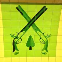 Photo taken at Finsbury Park London Underground Station by Jamie G. on 5/23/2013