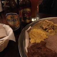 Photo taken at Lalibela Ethiopian Restaurant by Zack S. on 5/7/2017