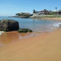 Photo taken at Praia da Direita by Reinaldo R. on 4/28/2013
